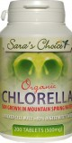 Certified Organic / Safety Certified Chlorella Tabs (500mg)